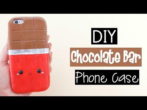 DIY CHOCOLATE BAR PHONE CASE