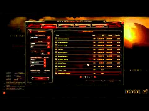 Diablo 3 Auction House Guide and Tips | How I make 1,000,000 gold a day