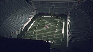 virginia tech football the terror dome