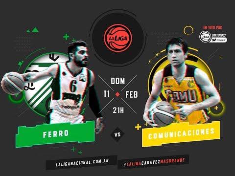 Liga Nacional: Ferro vs. Comunicaciones | #LaLigaEnTyCSports