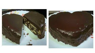Very Cheap Chocolate Cake Valentine Day Special /No Bake Cake Easy Recipe