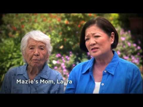 2012 Mazie Hirono Web Ad Saluting Her Mother for Bringing her to the United States
