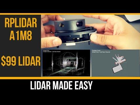 Best Lidar For $99 // RPLiDAR A1M8 360 Degree Kit