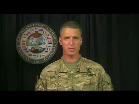 OIR Commander Briefs Media