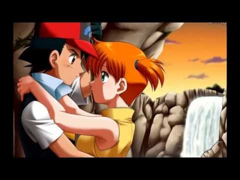 ash and misty kissing youtube