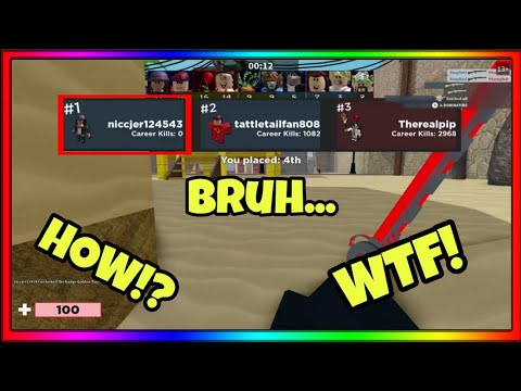 ROBLOX ARSENAL Funny Moments #1