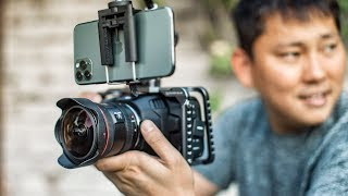 iPhone 11 Pro 4k vs BMPCC 6k Cinema Camera