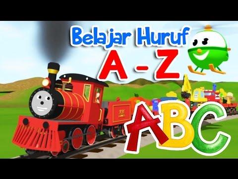 Belajar Huruf Alfabet Full A - Z Untuk Anak Anak  | Coilbook Indonesia