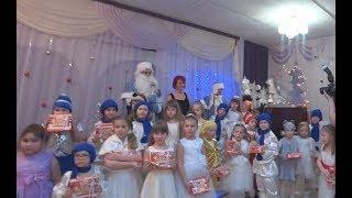 Новогодний утренник у Карины. Детский сад №43. 2018.