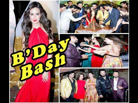 Sana Khan Birthday Party Star Dust With TV Celebs !!!