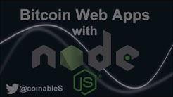 Bitcoin NodeJS Part 2 - Express