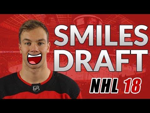 HOCKEY SMILES FANTASY DRAFT CHALLENGE!! (NHL 18 - Franchise Mode)