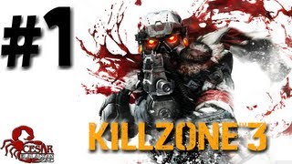 Killzone 3 - Gameplay (Español Latino) Parte 1 [HD]