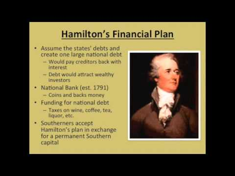 Washington and the New Government (APUSH) - YouTube