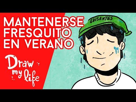 TRUCOS contra el CALOR en VERANO - Draw My Life en Español