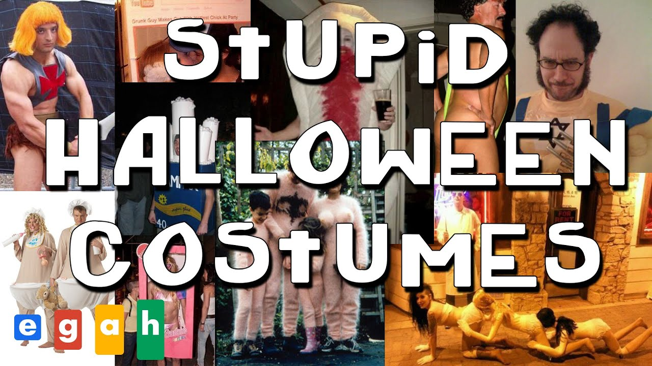 stupid halloween costumes | top 5 - youtube