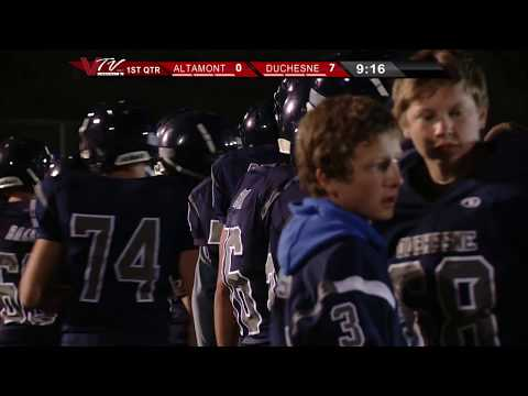 VTV Channel 6 High School Football: Altamont@Duchesne 2014