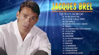 Jacques Brel Greatest Hits 2021-Jacques Brel Plus Belles Chansons 2021| Les vieux,La Quête,Mathilde