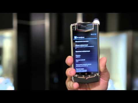 Обзор Vertu TI на Android