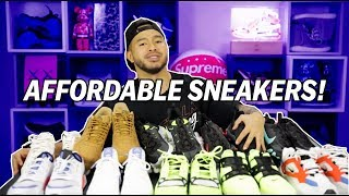 TOP 10 AFFORDABLE SNEAKERS OUT RIGHT NOW!