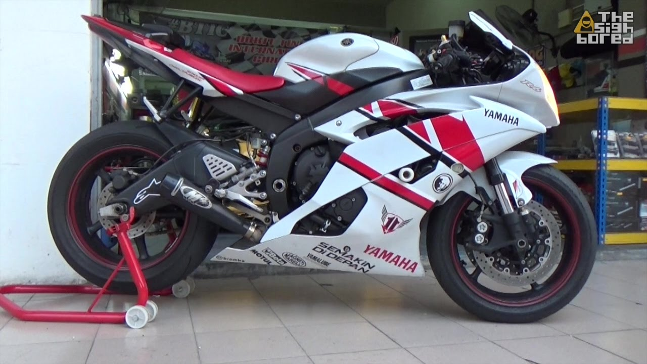 Yamaha yzf r6 m4 gp exhaust funnydog tv for Best exhaust system for yamaha r6