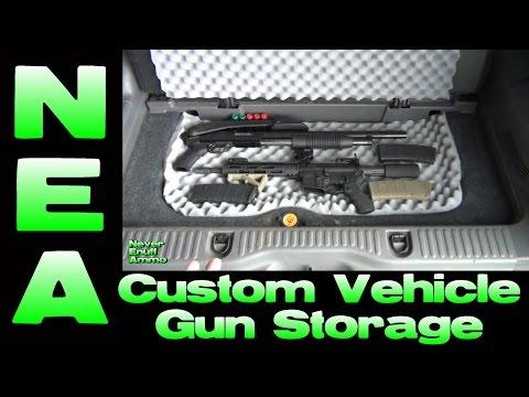 Custom Vehicle Gun Storage - DIY Install