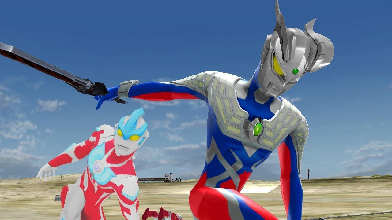 Upin Ultraman Zero Vs Ultramen Ginga Super Animasi Nursery Rhymes