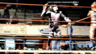 Mini Laredo Kid/Anubis VS Mini Psicosis/Mini Histeria Arena 4 Caminos Nuevo Laredo