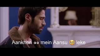 Aankhon Mein Aansoo leke | Ek Haseena Thi Ek Deewana Tha| whatsapp status song