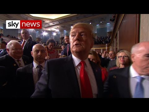 Donald Trump goes on the attack in State of the Union address
