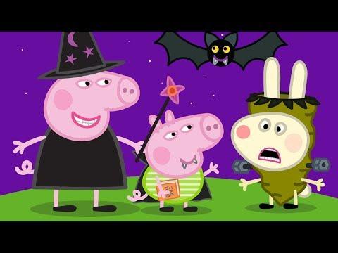 小猪佩奇 | 万圣节特辑🎃 | 1小时 | 巫婆 | 粉红猪小妹|Peppa Pig Chinese |动画