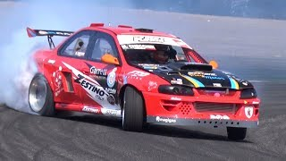 Drift Kings Italy 2019 - RD3 Adria - Twin Turbo V8 PS13, 2JZ Subaru, V10 Dodge BMW E46 & More!