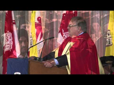 Dr. Jozef Vercruysse receives honorary doctorate from McGill