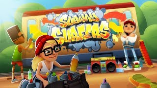 Subway Surfers Game Video Subway - Surfers World Tour