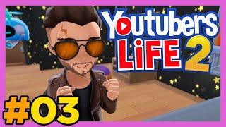 ⭐️ Youtubers Life 2 - Un vídeo para la PLAY-CON 🚀 - Cap. 03 - Gameplay Español