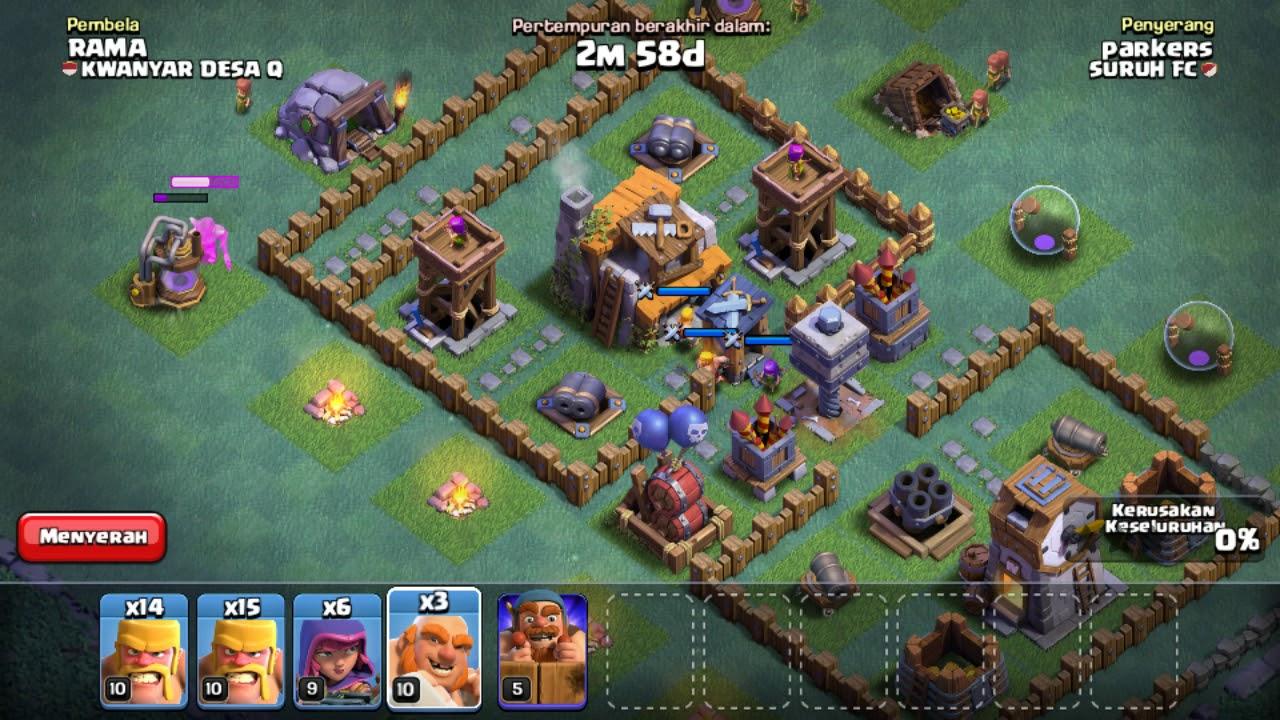Base Coc Malam Th 5 Defense Terkuat 6