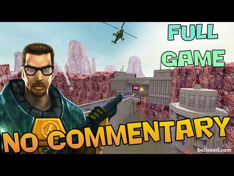 Half-Life:  Full Game Walkthrough 【NO Commentary】