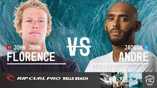 50-Year Storm Can't Take Down John John in Rip Curl Round of 32