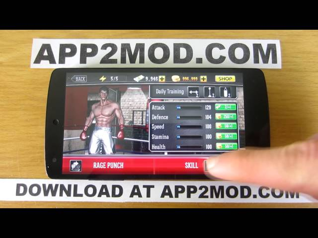 punch boxing mod apk