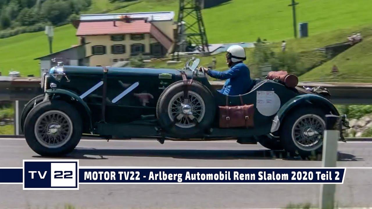 MOTOR TV22: Arlberg Automobil Renn Slalom 2020