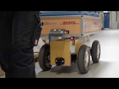 DHL employs robot as picker's best companion