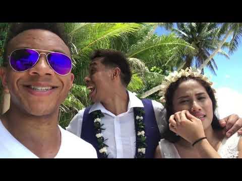 TrèyC VLOG #WeOutHere Ep. 4: Beach Wedding, Rough Ending (Palau)