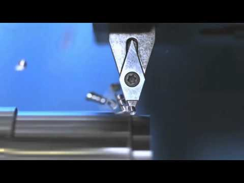 CNC SLOW MOTION WORKING PROCESS