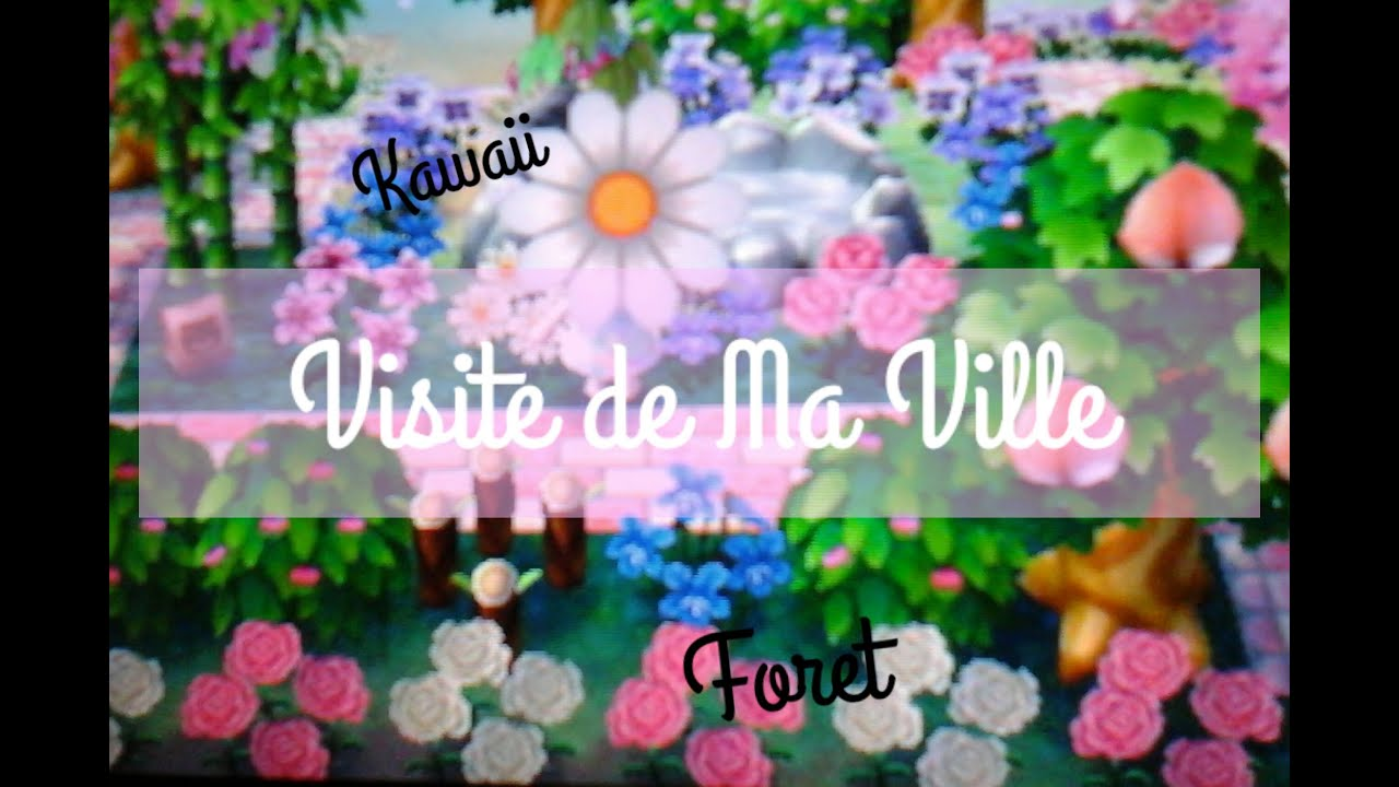 Animal crossing new leaf visite de ma ville youtube for Animal crossing new leaf arredamento