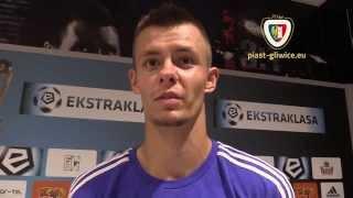 Szeliga, Kuciak i Osyra po meczu Piast - Legia 2-1 (1-1)