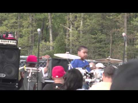 Stomp Dogg Son On Drums