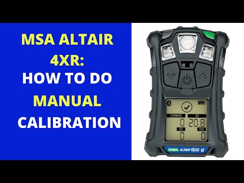Manual Calibration Procedure