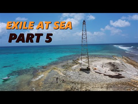 Survival on the smallest island in the Caribbean