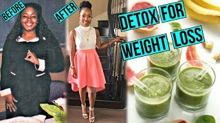 Detox for FAST WEIGHT LOSS | Smoothie & Juice Recipes that WORK! + CONTEST