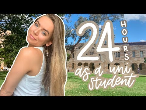 24 hours in the life of a uni/college student studying psychology!